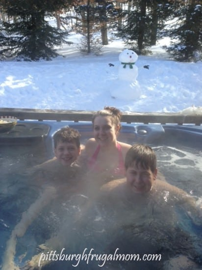 family fun, hot tub, outdoors, rental, west virginia, canaan valley, timberline, skiing, family time, destination, family skiing, vacation