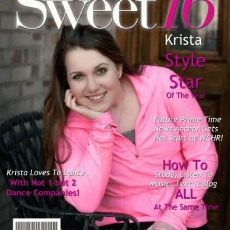THE MAGAZINE COVER & A SWEET 16 , birthday, daughters, sweet 16, parents, sweet 16, celebration, dana vento, party, parties, faux magazine cover, fake magazine cover, birthday presents, how to celebrate sweet 16, YourCover, AD