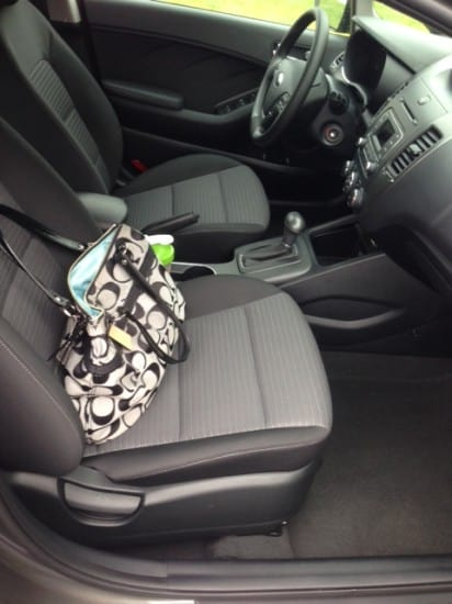 Inside the KIA with Pgh Frugal Mom