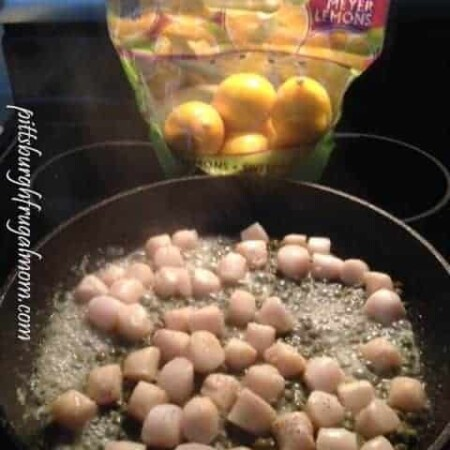 Meyer Lemons and Scallops
