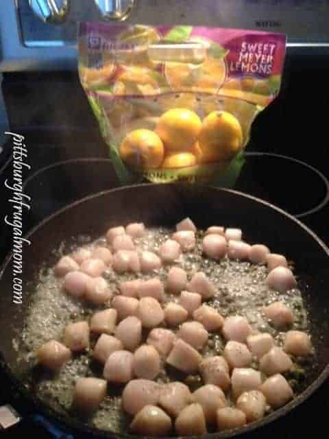 My Meyer Lemon Scallops With Capers