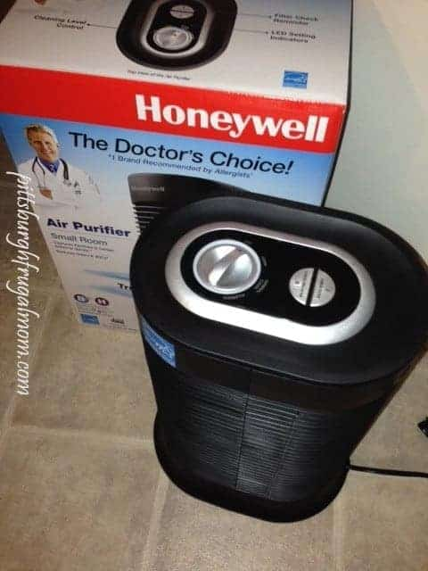 Heavenly Air Purifier to fight Allergens