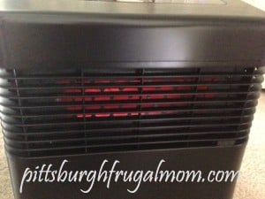 face of heater, portable heater, save money on heating, portable unit,pittsburgh frugal mom