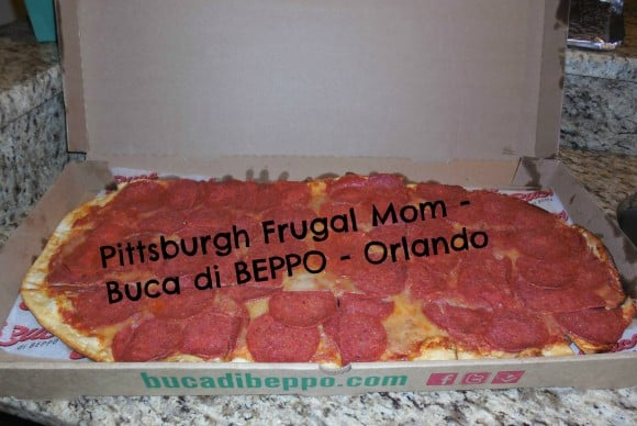 buca, buca di beppo, orlando, florida, disney, universal studios, food, pizza, chicken, gluten free food, nut free food, allergen free food, latex free food, kids, teens, tweens, italian food, italian dining, eating out, eating in, pick up, food to go, pick up food, pittsburgh frugal mom, kia