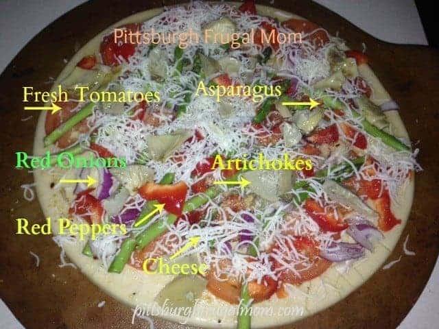 Easy Veggie Pizza