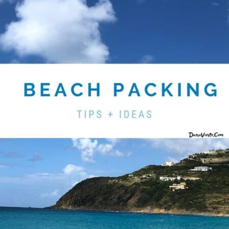 beach packing with beach scenes