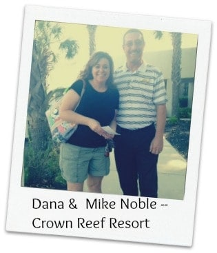 mike noble, crown reef resort, travel, mike noble, mary, crown reef, crown cafe,