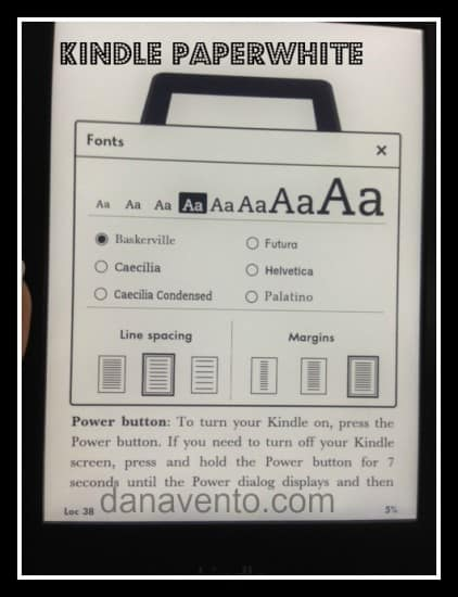 kindle paperwhite, thin, best reading experience, small, compact, bright, technology, holiday gift, e reader, amazon, amazon kindle, amazon kindle paperwhite, dana vento