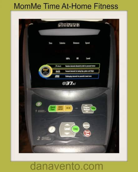 control panel, Octane Elliptical, octane elliptcal q 37 xi, app driven, dana vento, MomMe Time, Off the Chain, exercise, fitness, Pittsburgh, at home fitness, fitness equipment