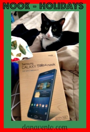 Samsung Galaxy Tab 4 Nook , eReader, Tech, Gifts, Tablets, Dana Vento
