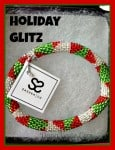 holiday, glass beaded bracelets, dana vento, jewelry, accessories, bracelets,