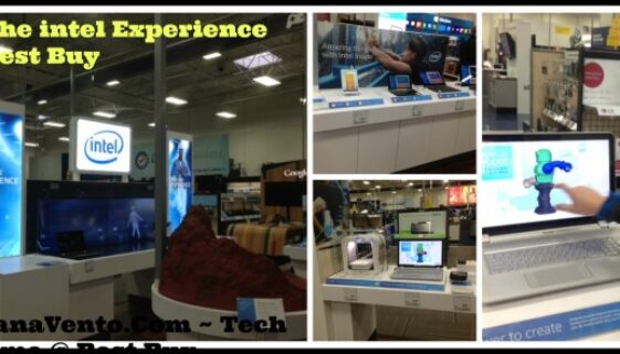 The Intel Experience at Best Buy, technology, hands on, in store, techs, gadgets, futuristic, dana vento