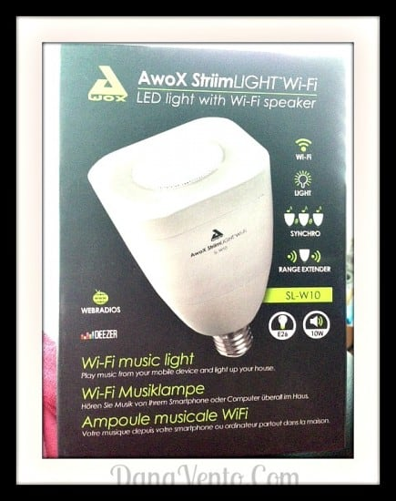 Wi-Fi Extender, LED bulb, music, light, lamps, rooms, bluetooth, WiFi Music LIght, Play music, mobile device, light up room, AxoX , StriimLIGHT WiFi, Dana Vento, Technology