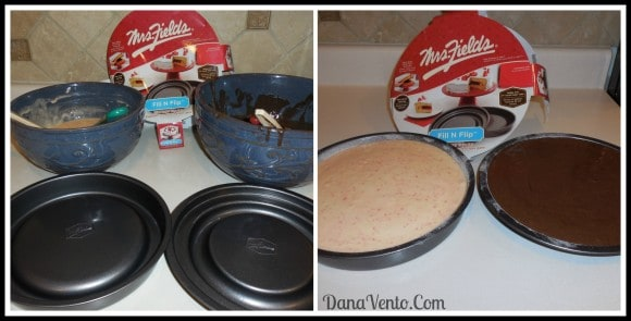 Mrs Fields Fill N Flip Round Pan, baking, desserts, foodie, filled cake, no slip, pocket, dana vento, kitchen, gadget, tool of the trade
