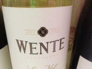 Wine Pairing With Wente