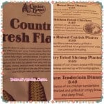 Family Dining Country Style