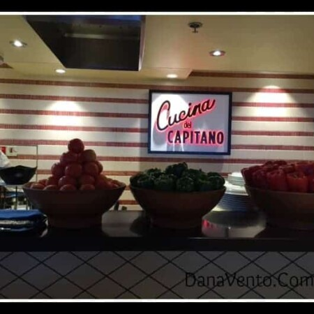 Cucina Del Capitano, Carnival Sunshine, Cruising, Food, Foodie alert, secret of the sunshine, pasta, lunch, dining, food on ship, restaurant, dana vento, lido marketplace