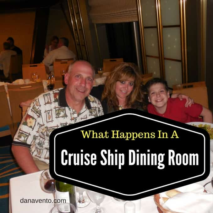 Dining Room Attendant: What Happens In A Cruise Ship Dining Room?