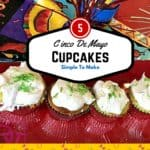 Cinco de mayo cupcakes, cinco de mayo, sweets, treats, desserts, how to, fast, easy, simple recipe, food, foodies, celebrate, party, party cinco de mayo, cinnamon, boxed mix, whipped topping, recipe, recipes, fast to make, foodie dana vento