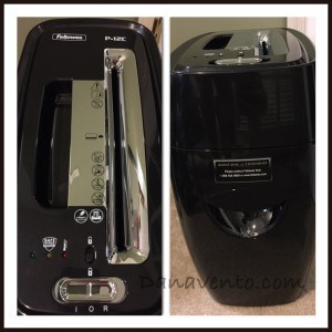 Spring Cleaning Meets The Fellowes Shredder