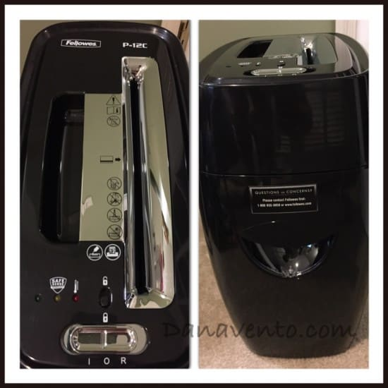 Fellowes Shredder, paper, spring cleaning, papers, identity theft, small office, home office, paper shred, dana vento, office supplies,