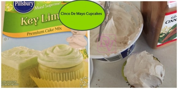 cinco de mayo cupcakes, cinco de mayo, cupcakes, icing, easy to make cinco de mayo cupcakes, cooking, food, foodie, dana vento, recipes