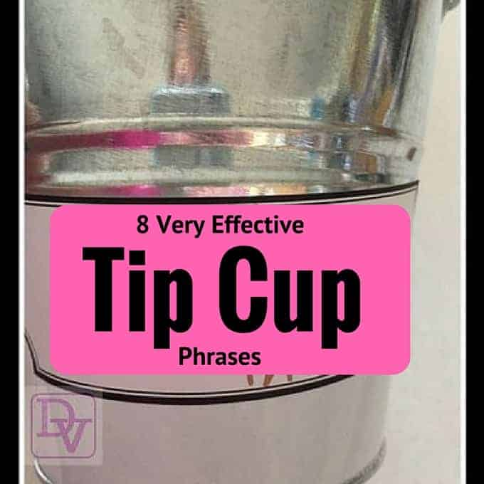 8 very effective tip cup phrases, 8 Very Effective Tip Jars, tipping, money, ice cream, tip jars, tips, dana vento
