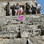 Mayan and Spanish Cultures, Pyramid is union, cozumel, travel, travel blogger, history, culture, dana vento