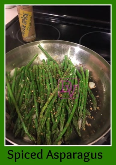 Beach Spiced Asparagus, Spiced Asparagus-Outer Banks, food, cooking, foodie, food blogger, dana vento, veggies, Food Lion, Ad, How To, Recipe, Food Lion Veggies, spiced asparagus with Outerspice, recipes, easy to make food, dana