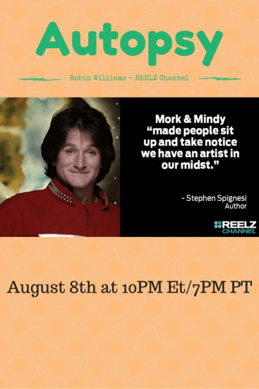 Robin Williams, REELZ Channel, Television, Comedian, Genius, entertainment, star, closure, dana vento, lifestyle expert,ad,Robin Williams Special Airs on Reelz