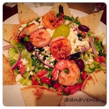 Atria's, pittsburgh, wexford, dining, restaurant, food, foodie, food blogger, food reviewer, shrimp, salad, nachoes, wine, miso salmon, coconut shrimp, crab cakes, meals, appetizers, foods, dana vento
