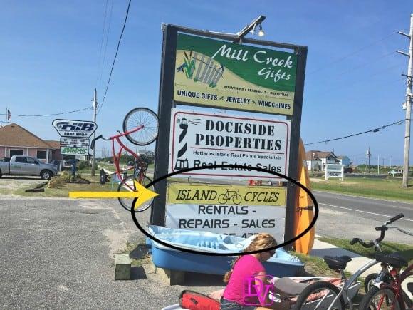 Island Cycles, OBX, Avon, Hatteras Island, Vacation, family vacation, bike rentals rent a bike, bicycles, dana vento, adventure, sport, biking, vacation, travel blogger, Jill, ad, dana vento, north carolina, outer banks, town of avon