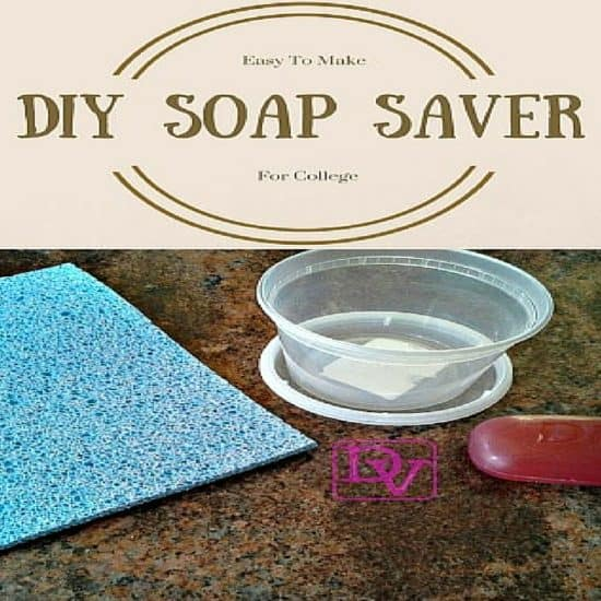 diy soap saver for college, college, college bathrooms, college showers, diy for college, fast way to save soap, saves soap, soap saver, how to, diy for soap, sponge, container budget friendly, easy to make, fast to make, college project, save your soap, diy soap saver, diy blogger