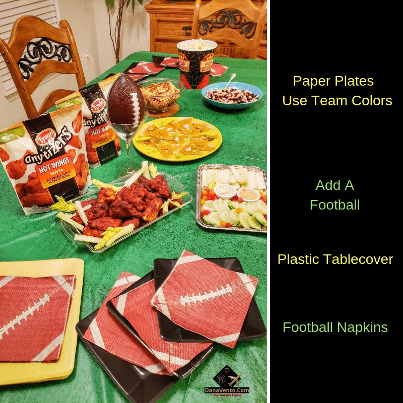 3 Tips For An Effortless Football Party