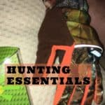 Hunting Preparation List