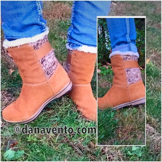 White Mountain Shoes, Weather resistant collection, polarair, polar, chestnut, suede water resistant, rain, sleet, ice, snow, cold weather, fashion friendly, sweater material, buckle, style, fashion, boot, bootie, calf, weather smart fashion, how to dress for weather smart fashion, How To Be Weather Smart With Fashion