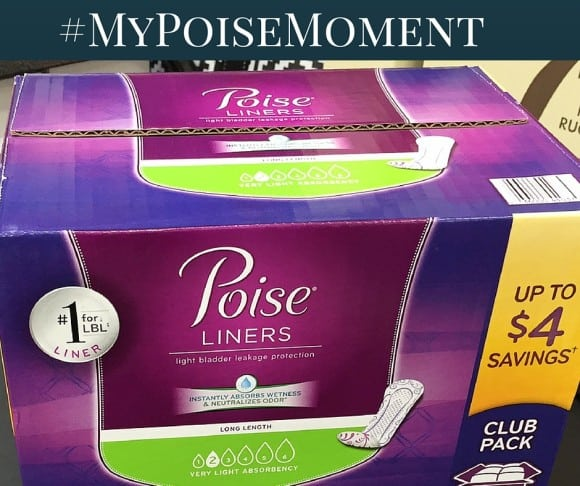 poise, poise liners, sam's club, lbl, lbl secret club, Laugh Out Loud With Confidence