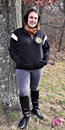 Playoff Bound: Gearing Up for the 2016 NFL Playoff, gift guide, apparel, fashion, ladies, NFL Shop, clothing, tops, bottoms, socks, hoodies, jackets, outerwear, fashion, nfl fashion, stylish fashion, tasteful fashion, feminine fashion, Steelers, Pittsburgh Steelers,Dress warm for game, tailgating, football, touchdown, reverse, safety, scrimmage, spike, flag, possession, touchback, training camp, wide receiver, yard line, zebras, ball control, blitz, bench area, bootleg, bomb, blocking, center, bump and run, audible, american football conference, nfl, nfl shop, false start, field goal, flag, formation, free agent, fullback, end zone, draft, down, delay of game, cornerback, completion, commissioner, coin toss, clipping, chain gang, officials, overtime, options pass, pass, pass rush, rush, pitch, play action pass, motion, locker room, linebacker, interception, kicker, holding, helmet, hashmarks, halftime, hailmary, super bowl, sweep