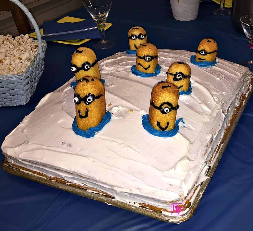 3d Minions Cake Recipe Easy To Create Sheet Cake For The