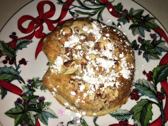 almond, almond croissant, nuts, pastry, delicacy, pastries, step by step, how to, recipe, recipes, holiday, holiday tradition, sweet, sweets, dessert, desserts, food, foodie, food blogger, dana vento, food blogger dana vento, diy, baking, holiday baking, specialty, recipes for holiday, pre made croissant, paste, puree, liquid, almond, powdered sugar