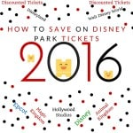 How To Save On Disney Park Tickets