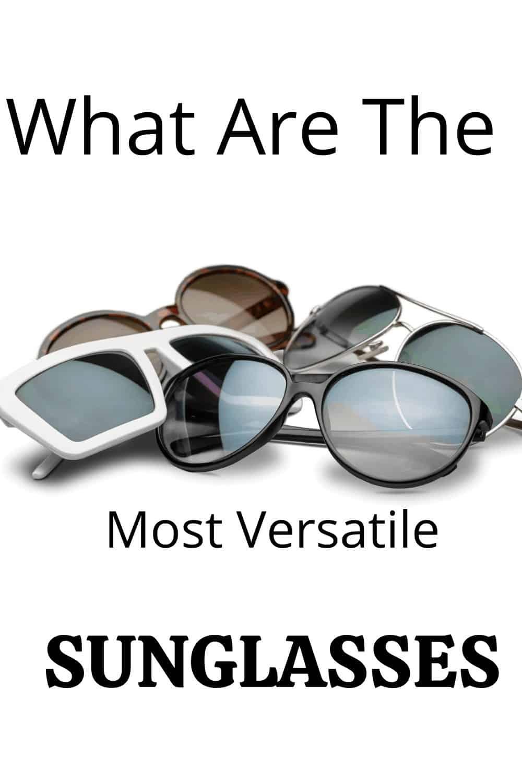 many sunglasses piled up