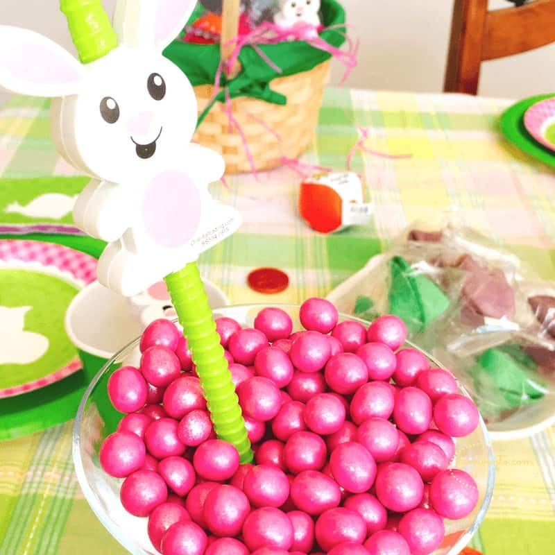 easter party ideas a bowl of chocolate shimmering treats