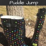 How To Stylishly Puddle Jump