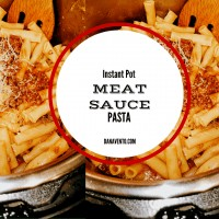 instant pot, instant pot meat sauce and pasta, pasta, meat sauce, easy meat sauce, fast, italian food, sauces, garlic, electric pressure cooker, pressure cooker, noodles, cheese, meat, water, seven minutes, food, food blogger, traditional Italian Food, Dana Vento Food Blog