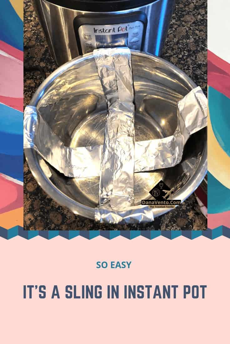 Instant Pot Sling Tutorial, Fast, Easy, IP cooking, Instant Pot Help, Instant Pot DIY,