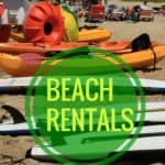 Chesapeake Bay Beach Equipment Rentals