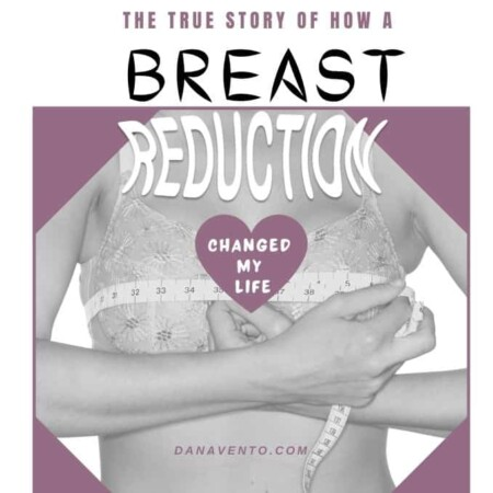 TRUE STORY OF HOW A BREAST REDUCTION CHANGED MY LIFE tape measure and breast