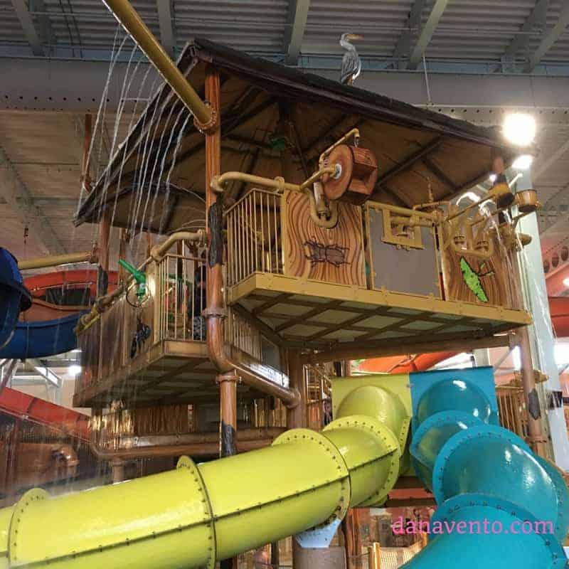Kalahari Resorts inside slides