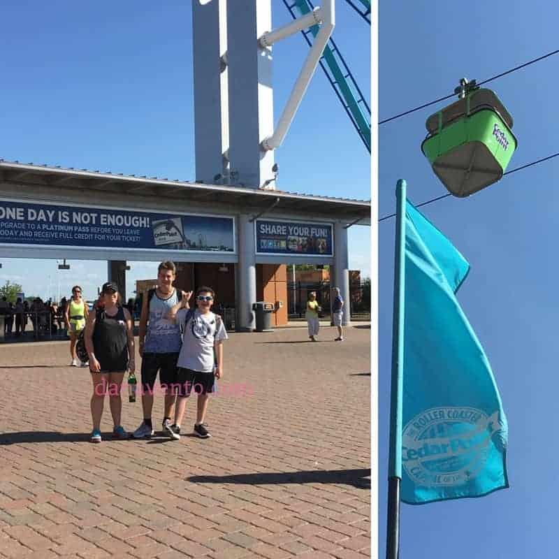 Cedar Point in Sandusky of Lake Erie Shores and Islands
